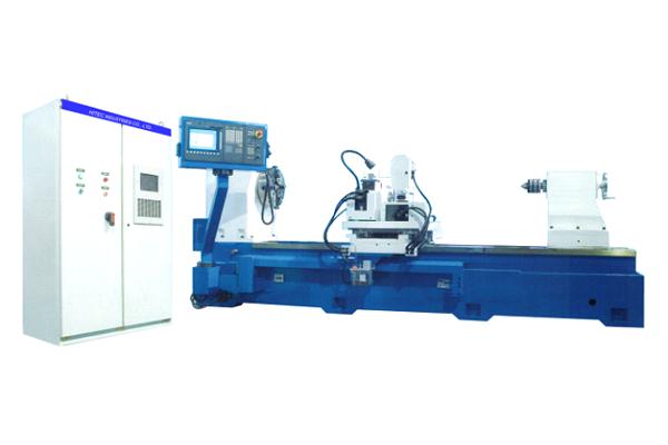 CNC Roll Notching & Marking Lathe